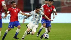 Аргентина — Чили — 1:1. Месси против Санчеса. Видео голов и обзор матча
