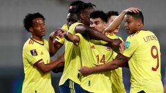 Колумбия уверенно разобралась с Перу в отборе на чемпионат мира