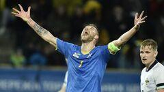 Сборная Украины получила полдня отдыха после матча с Северной Ирландией