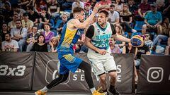 В баскетболе 3x3 Украина потерпела два поражения в квалификации к Олимпиаде