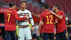 Мората и Роналду без забитых голов. Испания и Португалия разошлись миром