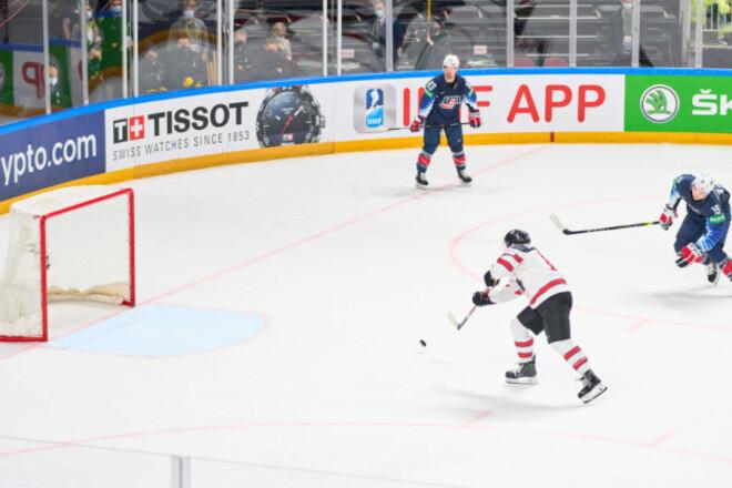 ЧМ по хоккею. Обзор полуфинала США - Канада