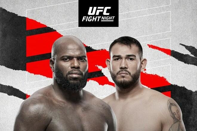 Где смотреть онлайн UFC: Жаирзиньо Розенструйк – Аугусто Сакаи