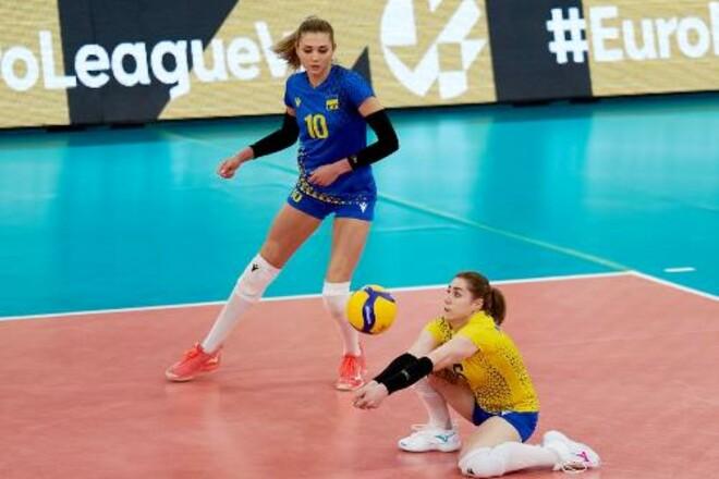 Свой заключительный матч Золотой Евролиги Украина проиграла