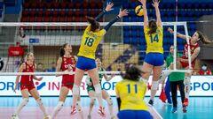 Українські волейболістки програли збірній Болгарії в Золотій Євролізі