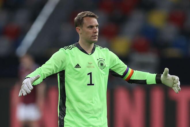 Нойер – первый вратарь, сыгравший 100 матчей за сборную Германии