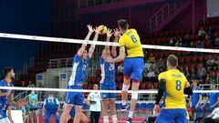 Украина победила в своем четвертом матче мужской Золотой Евролиги