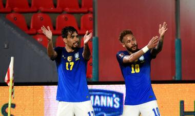 18 очков из 18. Гол и ассист Неймара принесли Бразилии победу над Парагваем