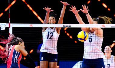 Жіноча збірна США виграла всі 9 матчів у волейбольній Лізі націй