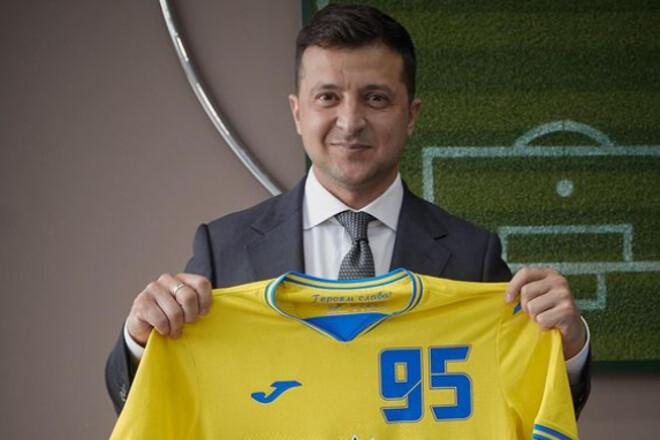 Владимир ЗЕЛЕНСКИЙ: «Новая форма сборной Украины точно особенная»