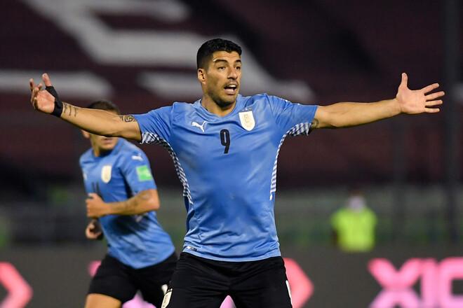 Суарес без голов. Уругвай и Венесуэла разошлись миром в квалификации ЧМ