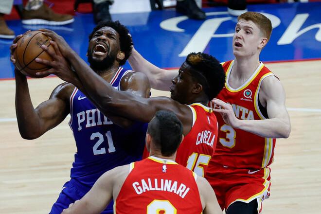 НБА. 45 очков Митчелла, 40+13 Эмбиида, Юта и Филадельфия побеждают