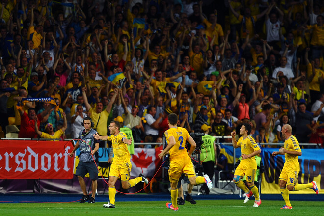Как cборная Украины на Евро играла