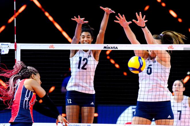 Женская сборная США выиграла все 9 матчей в волейбольной Лиге наций