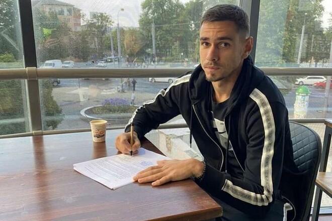 Верес продлил контракт с украинским вратарем