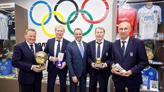 В Днепре открыли Музей спорта. Присутствовали Беланов, Блохин и другие