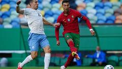 ВИДЕО. Роналду забил гол в ворота Израиля в репетиции накануне Евро-2020