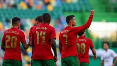 Роналду забиває. Португалія розгромила Ізраїль за два дні до Євро-2020