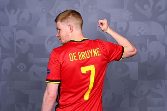 России повезло. Де Брюйне пропустит стартовый матч Бельгии на Евро-2020