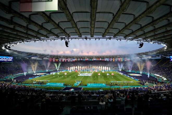 ФОТО. Большой праздник футбола. В Риме прошла церемония открытия Евро-2020