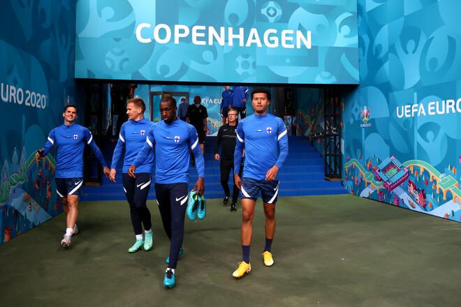 Дания – Финляндия. Евро-2020. Группа B. Смотреть онлайн. LIVE трансляция