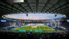ФОТО. Велике свято футболу. У Римі пройшла церемонія відкриття Євро-2020
