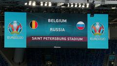 Бельгія – Росія – 3:0. Текстова трансляція матчу