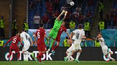 Хватило только на тайм. Италия в матче-открытии Евро-2020 разгромила Турцию