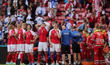 ОФИЦИАЛЬНО. Матч Дания – Финляндия доиграют сегодня