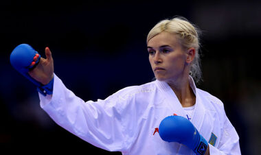 ФОТО. Українка Серьогіна завоювала олімпійську ліцензію з карате