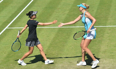 Людмила Киченок выиграла парный турнир в Ноттингеме
