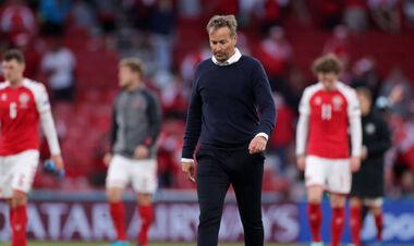 Тренер Дании жалеет о возвращении на поле: «Не нужно было доигрывать матч»