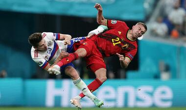 Подвійний перелом. Гравець Бельгії отримав травму очниці в грі з Росією