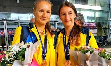 Ангелина Хмиль и Татьяна Лазаренко выиграли этап Мирового тура