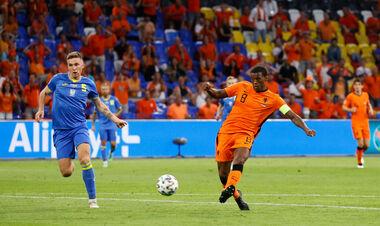 Чья ошибка? Вейналдум открыл счет в матче Нидерландов и Украины