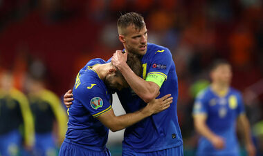 Украина проводит худшую серию поражений на Евро в истории