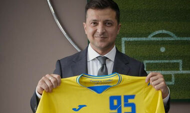 Владимир ЗЕЛЕНСКИЙ: «Надпись на форме не убрать. Это – про Украину»