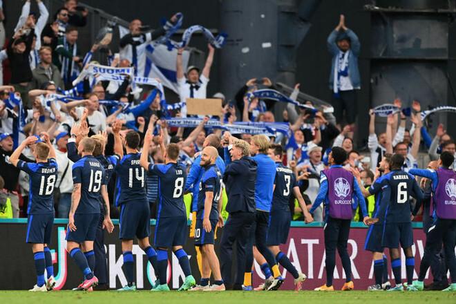 Фінляндія дебютувала на Євро з перемоги