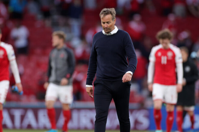 Тренер Данії шкодує про повернення на поле: «Не потрібно було догравати»