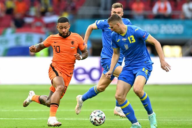 Нідерланди – Україна – 3:2. Євро-2020. Відео голів та огляд матчу