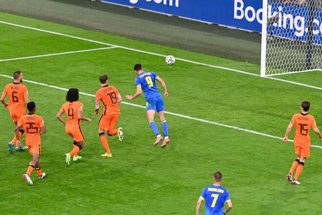 Прорвало! Яремчук ударом головою зрівняв рахунок у грі проти Нідерландів