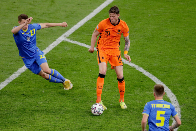 Турнирная таблица Евро-2020. Украина занимает 3-е место после 1-го тура