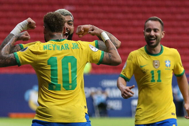 Бразилия разгромила Венесуэлу на старте Кубка Америки