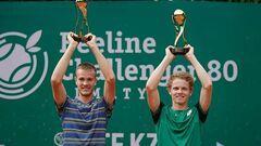 Сачко выиграл дебютный парный титул на челленджерах