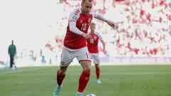 Кристиан Эриксен назван лучшим игроком матча Дания – Финляндия