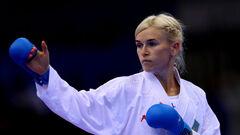 ФОТО. Украинка Серегина завоевала олимпийскую лицензию по карате