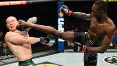 Адесанья защитил чемпионский титул UFC, победив Веттори