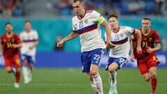 Артем ДЗЮБА: «Лукаку був шокований, дивлячись на гру Росії в обороні»