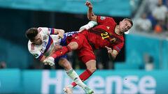 Двойной перелом. Бельгийский игрок получил травму глазницы в игре с Россией