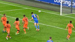 Прорвало! Яремчук ударом головой сравнял счет в игре против Нидерландов